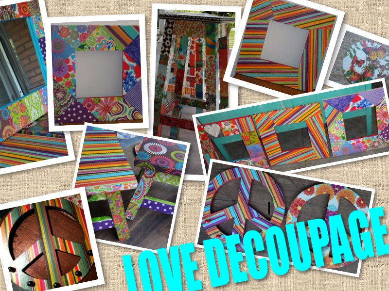 LOVE DECOUPAGE