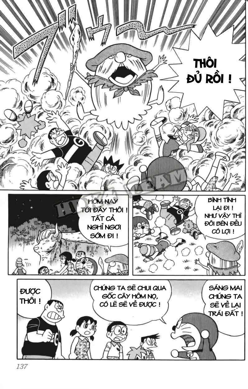 Truyện tranh Doraemon Dài Tập 25 - Nobita và truyền thuyết thần rừng trang 157