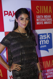 Pooja Hegde looks so cute and dusky in Black Dress at a function Spicy Pics