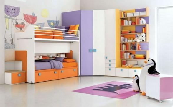 Muebles para una Habitación Infantil con mucho Color  Infantil