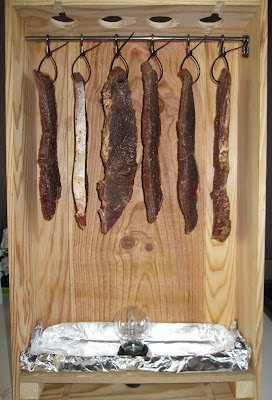 to create the airflow that dries the meat living in france i used a