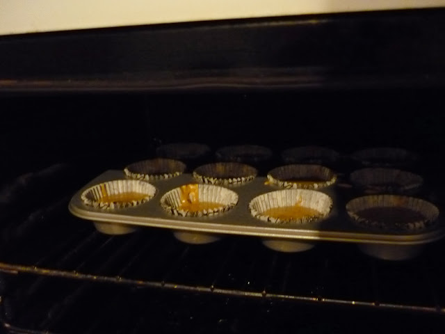 Pumpkin and Chocolate Chip Cupcakes
