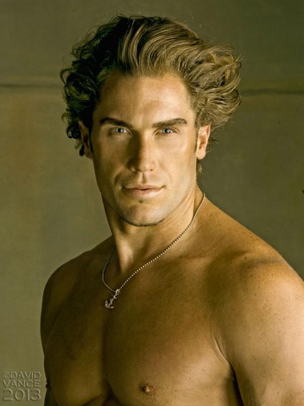 Greek Mythology Male Model: De Angelo by David Vance Photos | Fashion ...