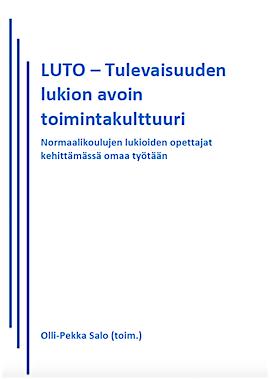 LUTO-hankkeen julkaisu 2015