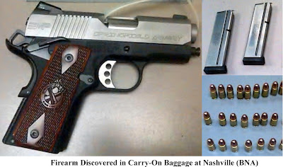 Loaded firearm. (BNA)