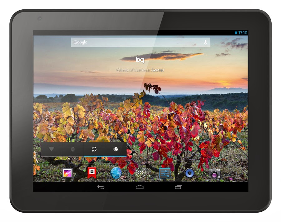 Tablet BQ Curie 2 quadcore con Wifi y Bluetooth