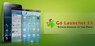 cara mengubah tema Android dengan GO Launcher EX