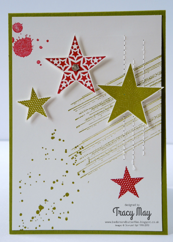 Stampin up demonstrator card making simply stars gorgeous grunge
