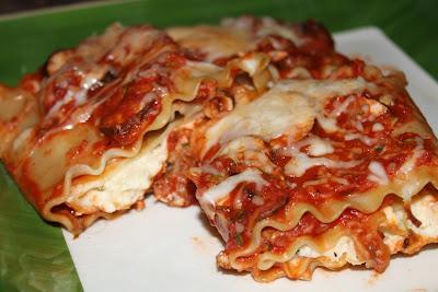 Lasagna Roll-a-tini