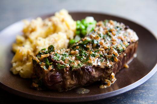 Little Sass Never Hurt Anyone: Peppercorn Steak recipe