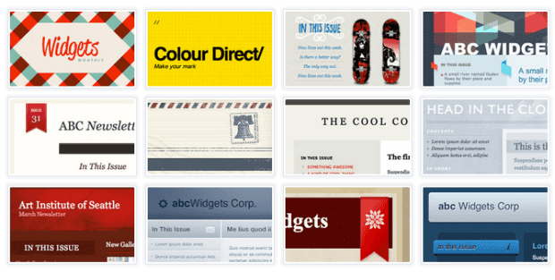 500 free responsive html email newsletter templates for Www campaignmonitor com templates