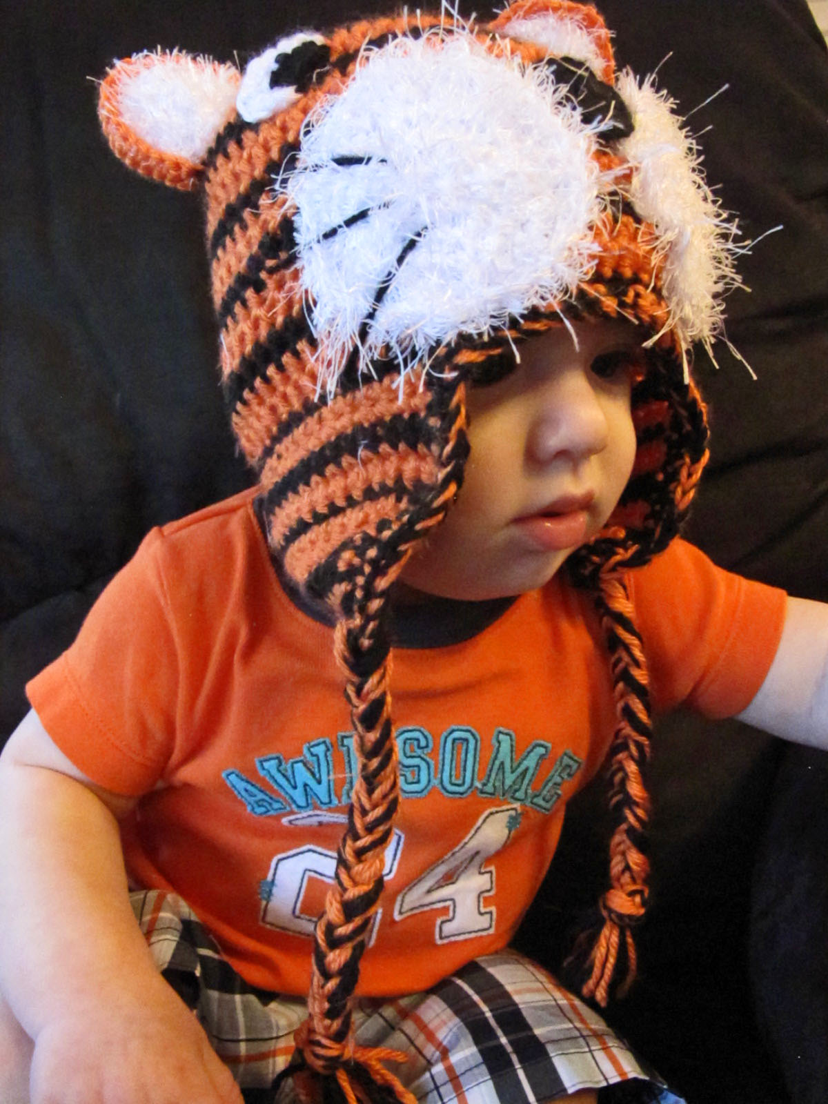 .Crafty Capable.: Fuzzy Muzzle Tiger Hat Pattern