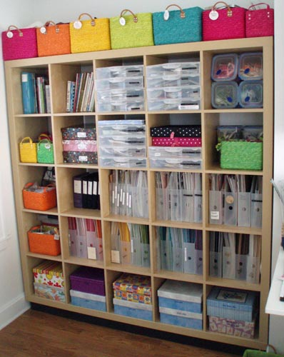 Brenda 39 s scrappy blog sharing our craft spaces blog hop - Scrapbooking storage ideas for small spaces plan ...