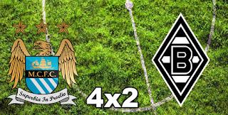 Manchester City 4x1 Monchengladbach