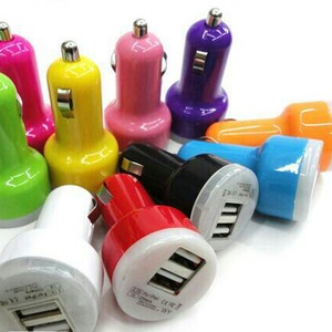 Car Charger 2 port USB (Cas HP pd MOBIL)