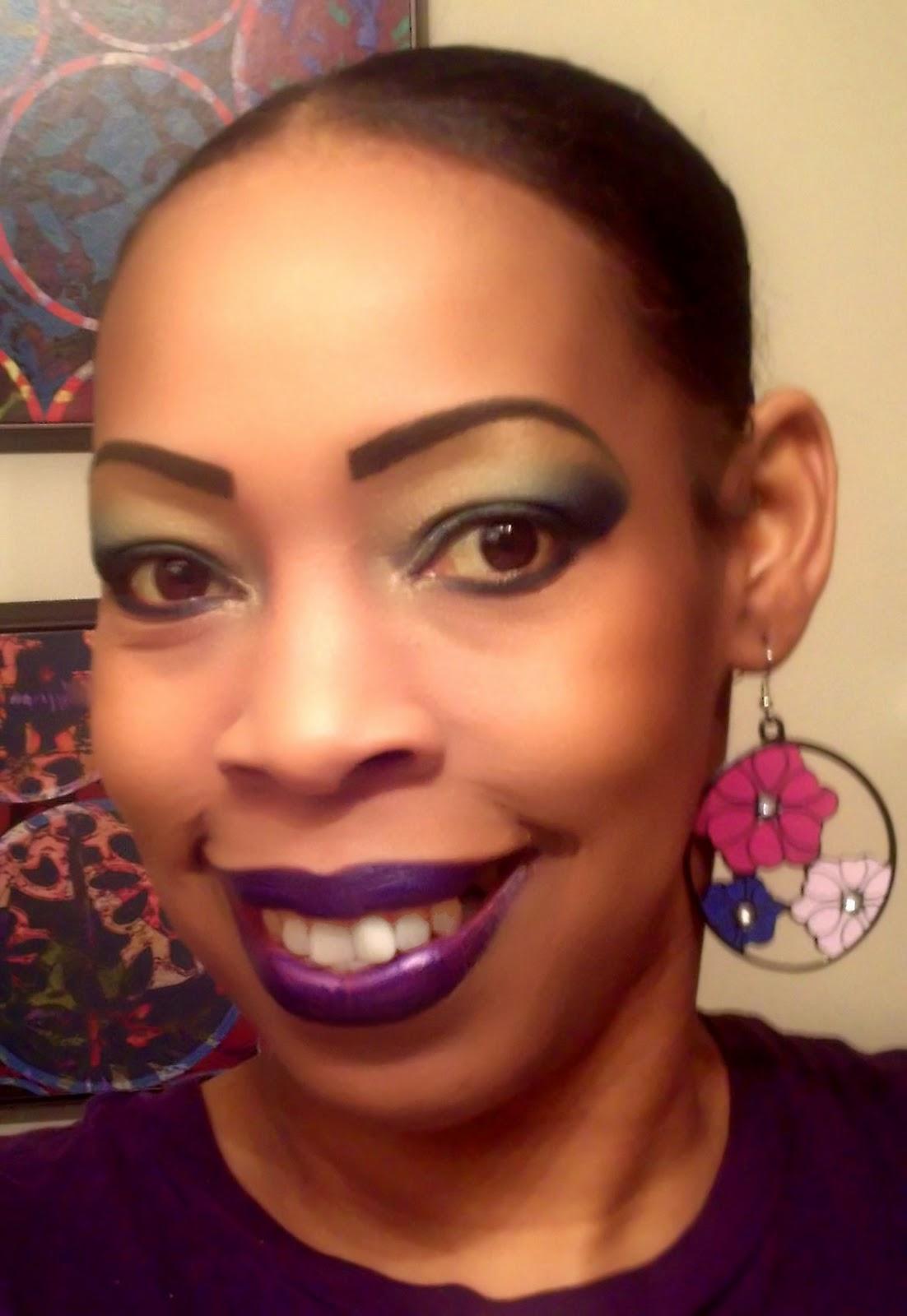 Young And Beautiful Makeup Mardi Gras Makeup