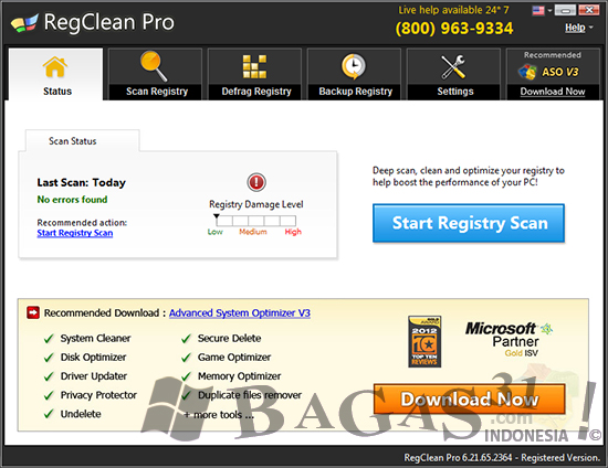 SysTweak RegClean Pro 6.21 Full Crack 2