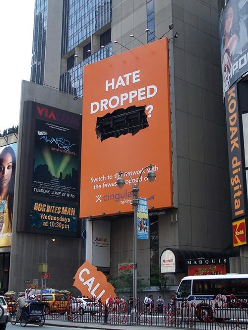 Cingular Ad - Iklan stiker kreatif