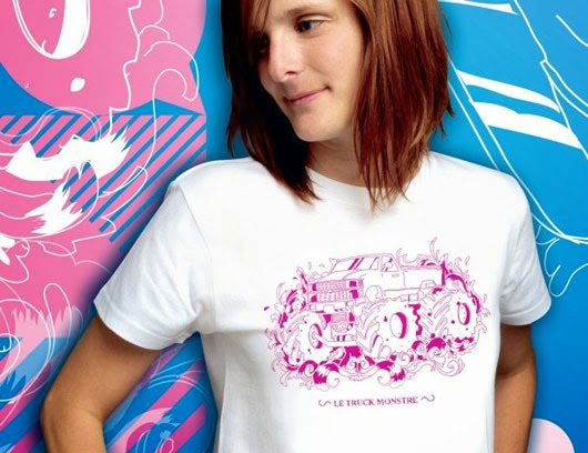 one-colour T-shirt