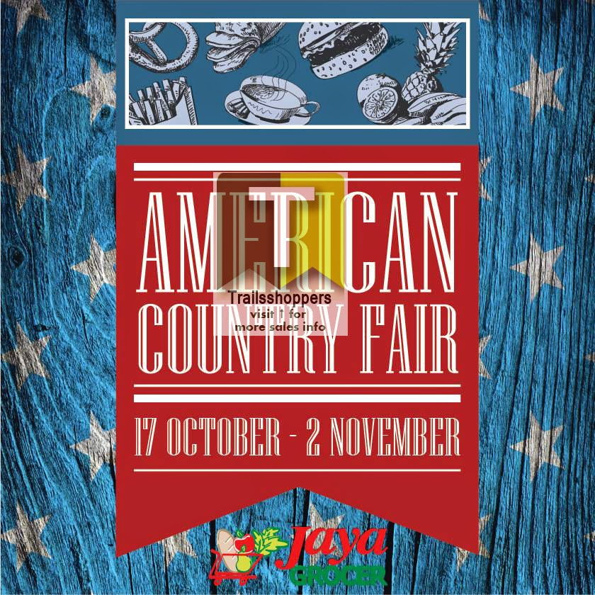 USA American Country Fair at Jaya Grocer