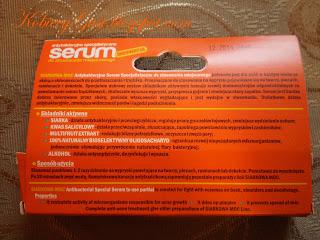 serum siarkowa moc na przyszcze