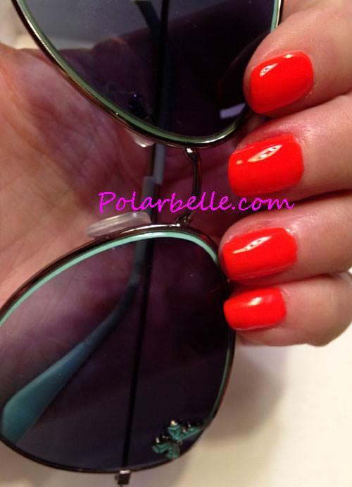 review, swatches, Oh So Orange, Liquid Sunshine, Lime Luster