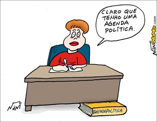 Dilma, a senhora tem uma agenda política?