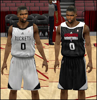 NBA 2K13 Houston Rockets Practice Jersey Patch