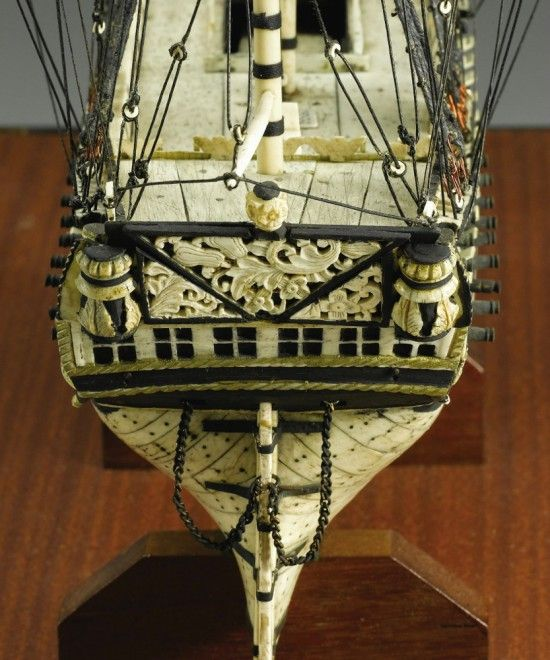 Unik, Replika Kapal Ini Terbuat Dari Tulang Manusia! [ www.BlogApaAja.com ]