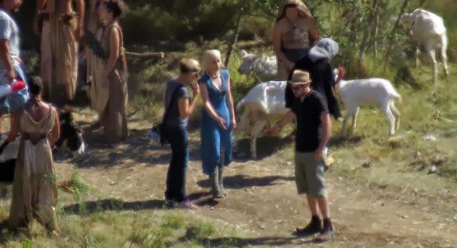 Emilia Clarke Daenerys 4T juego de tronos - Juego de Tronos en los siete reinos