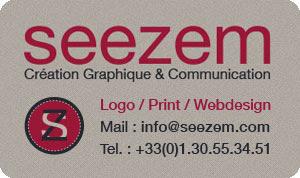 SeeZem, création graphique / communication