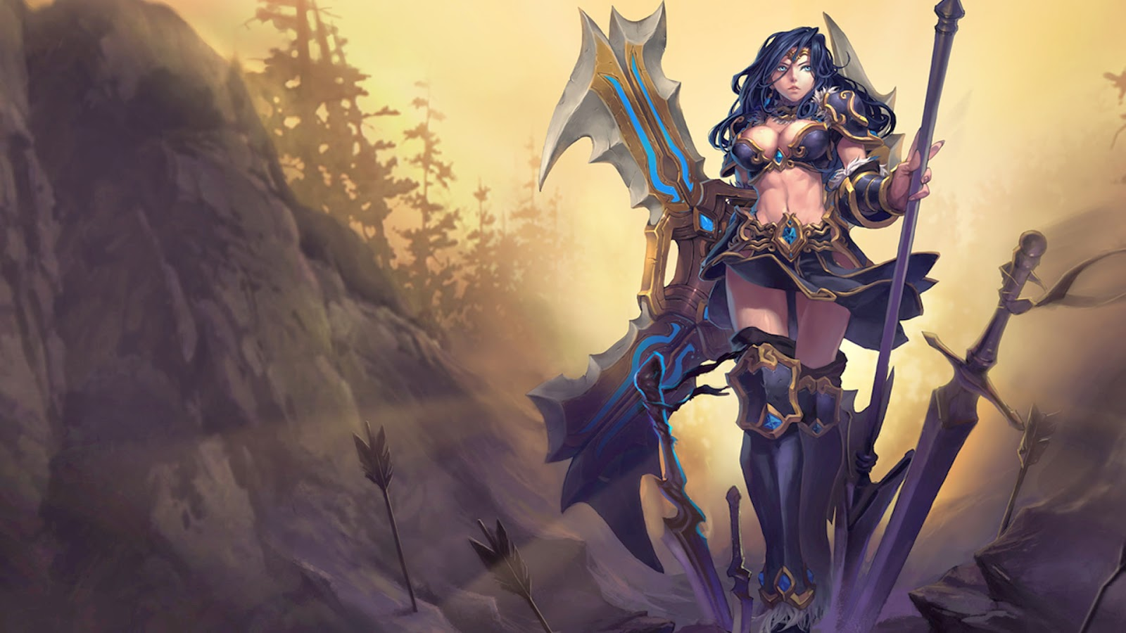Sivir League of Legends Wallpaper