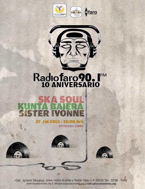 Con un concierto, Radio Faro celebra sus 10 primeros años de vida