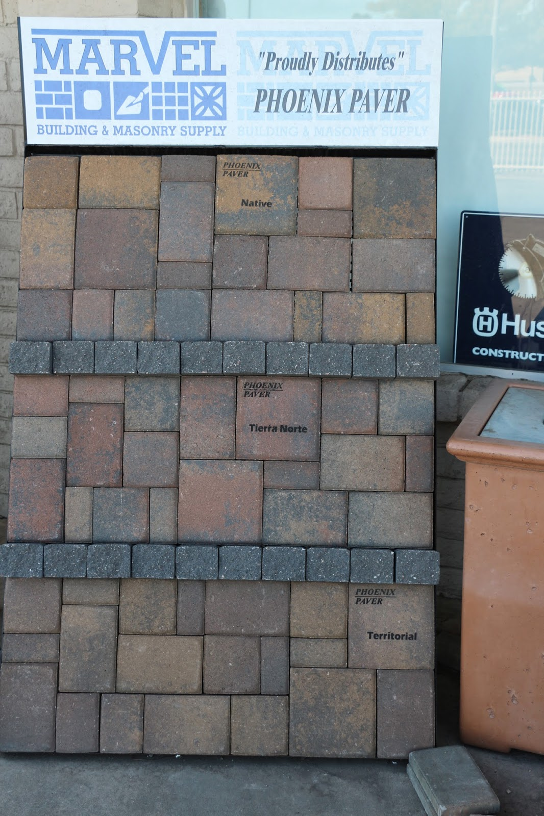 phoenix paver colors
