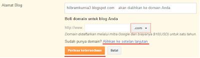Perubahan Domain