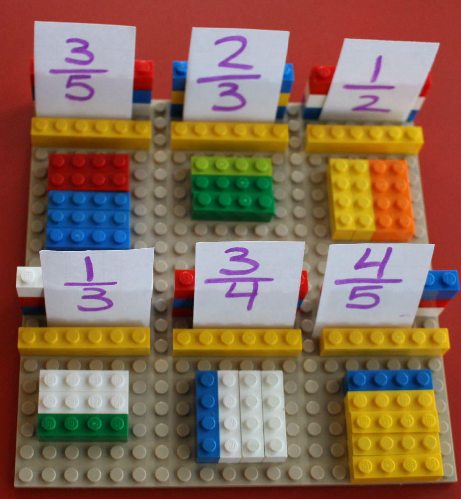BRICK Marketplace: Five Activities to Teach Fractions With LEGO