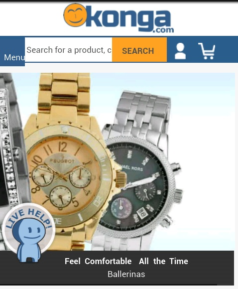 Original Watches and other jewelries from Konga
