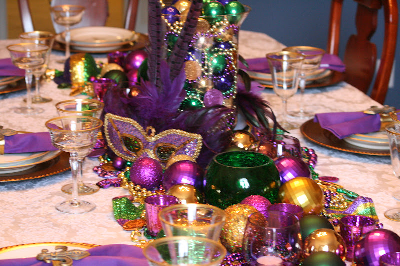 & Marshau0027s Creekside Creations: Mardi Gras Table