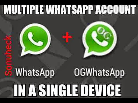 How to use 2 two multiple whatsapp account in a single android device.