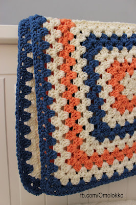 Granny crochet blankets