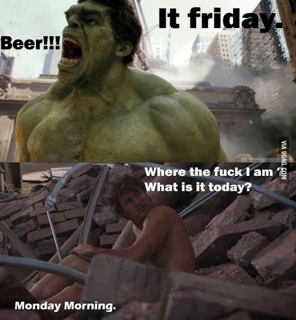 Por fin Viernes - Hulk