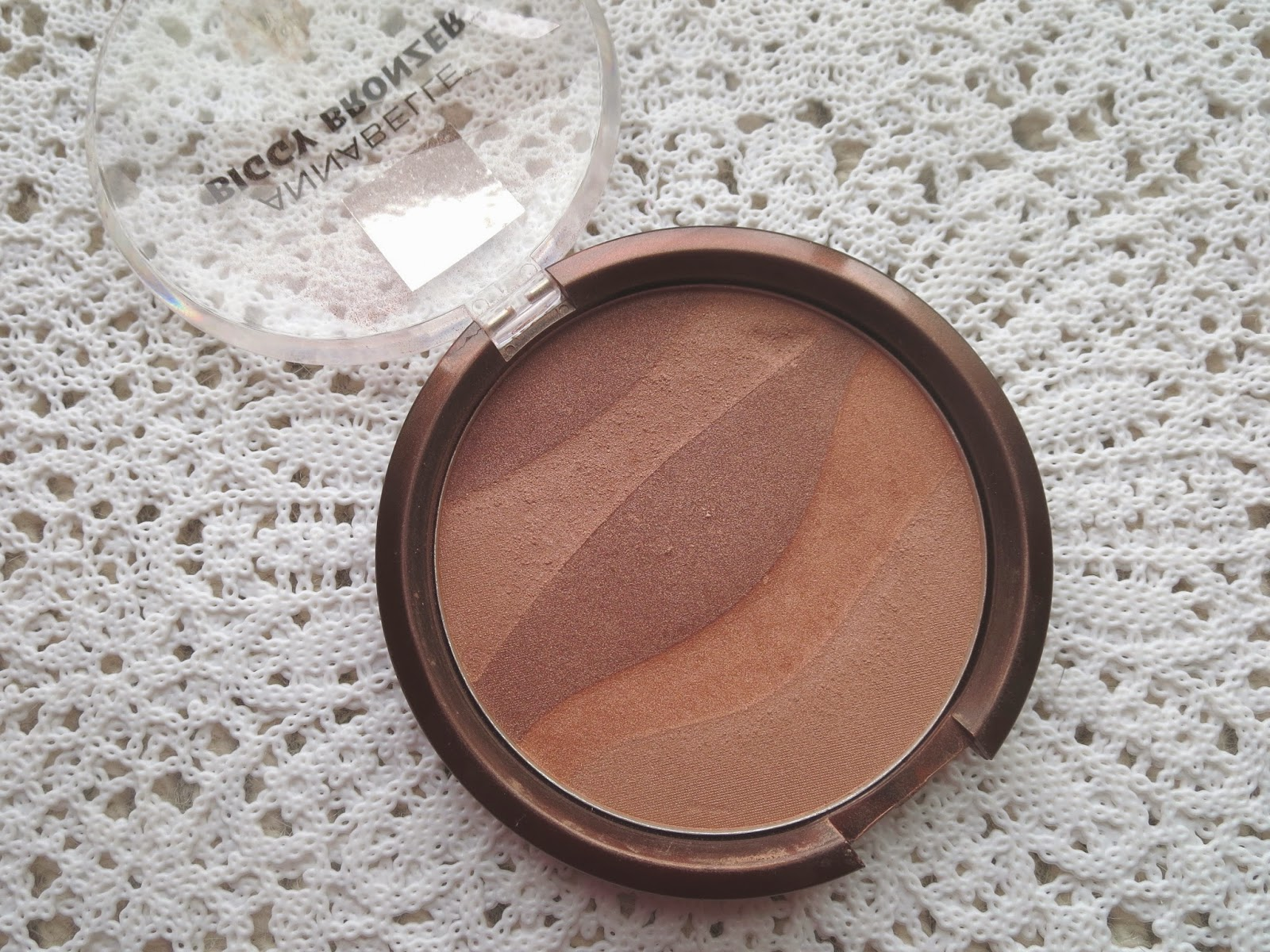a picture of Annabelle Biggy Bronzer in Haute Gold