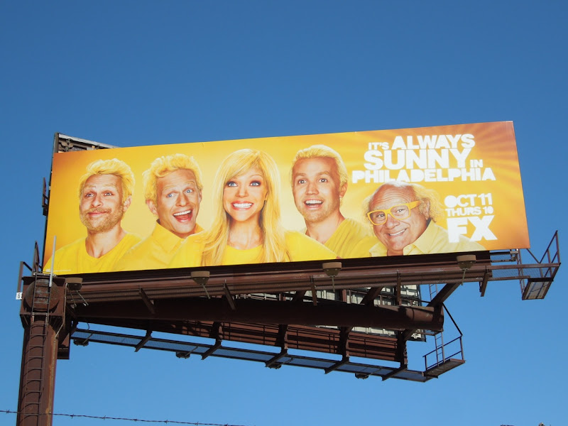 Always Sunny Philadelphia 8 billboard