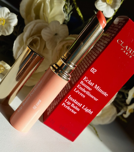 Clarins Instant Light Natural Lip Balm Perfector in Coral