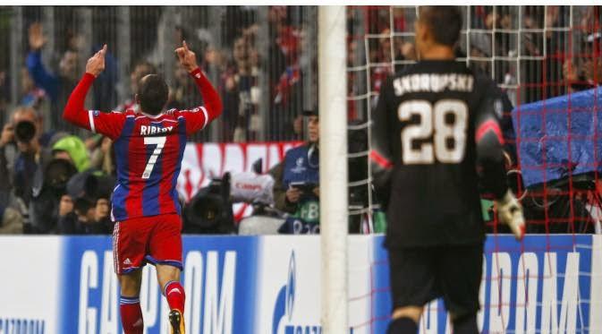 Bayern Lolos ke 16 Besar Berkat Kemenangan  2-0 Atat AS Roma