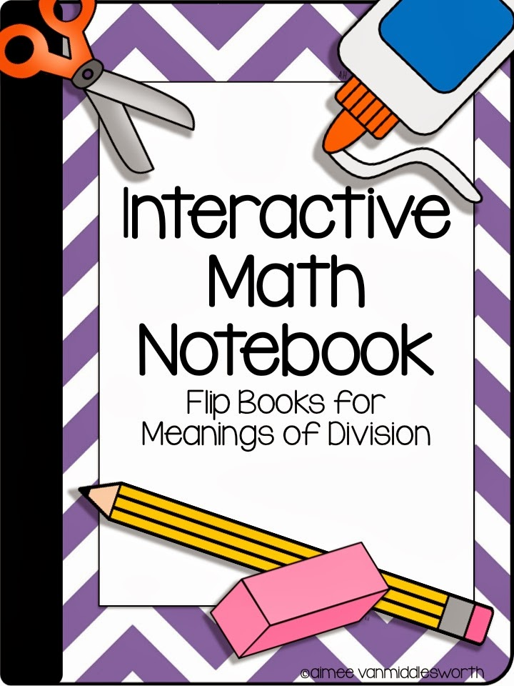 Pencils Books and Dirty Looks: Interactive Math Notebook Flip Books ...