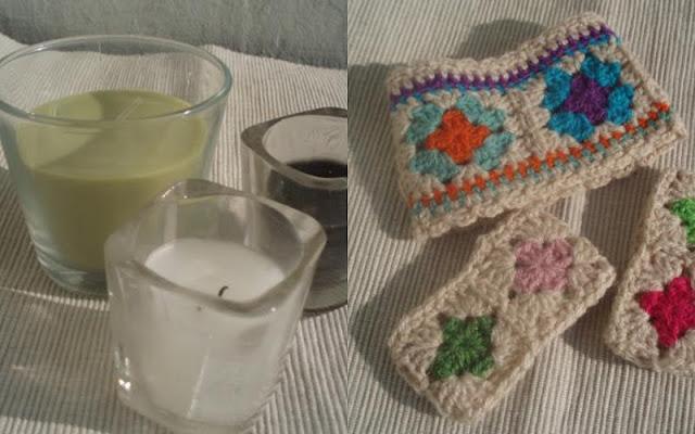 La ventana azul: 77.- Portavelas a crochet - photo#36
