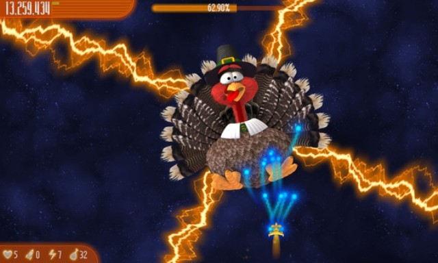 Chicken Invaders 4 Thanksgiving PC Games Gameplay