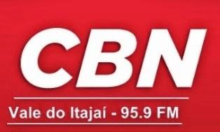 Rádio CBN FM de Blumenau e Vale do Itajaí ao vivo