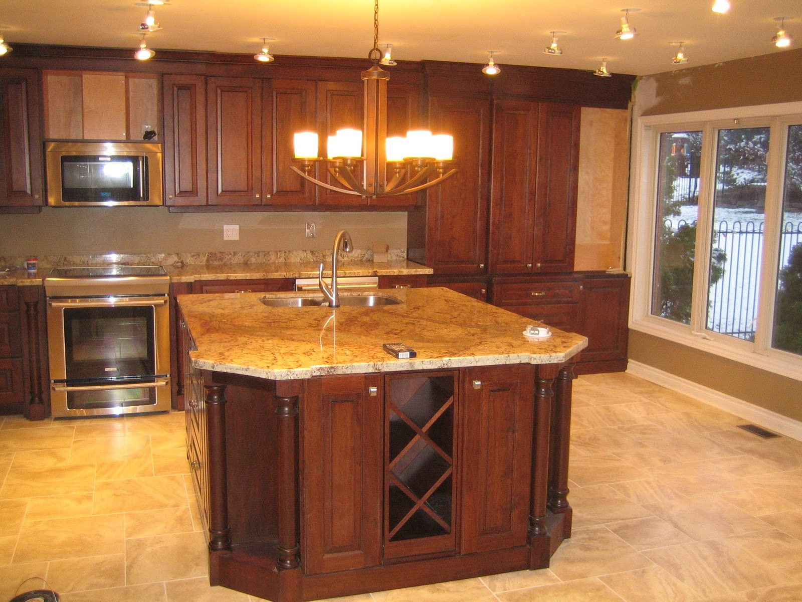 walnut cabinets kitchen pictures of kitchens traditional